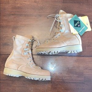 Belleville 790 Waterproof Army Flight Boots Desert